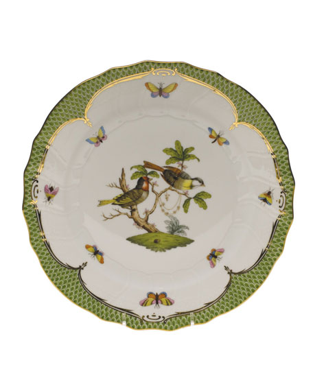 Herend Rothschild Bird Dinner Plate #11