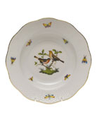 Herend Rothschild Bird Motif 9 Rim Soup Plate