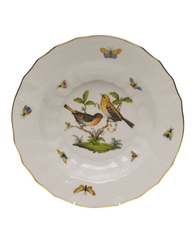 Rothschild Bird Motif 9 Rim Soup Bowl