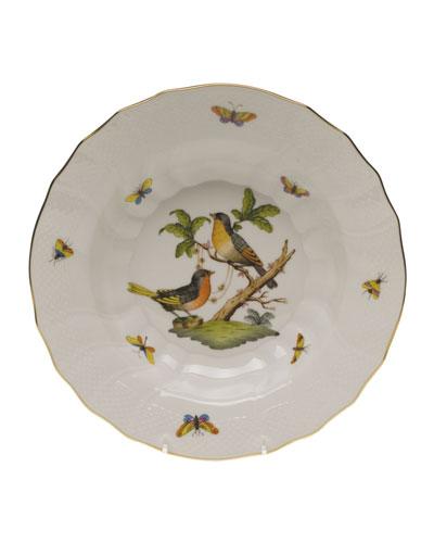 Rothschild Bird Motif 8 Rim Soup Bowl