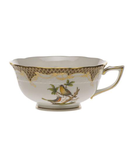 Herend Rothschild Bird Brown Motif 8 Tea Cup