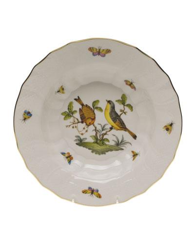 Rothschild Bird Motif 07 Rim Soup Bowl
