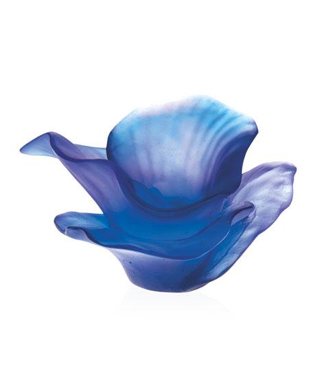 Daum Ultra Violet Flower Decor