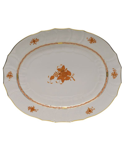 Chinese Boutique Rust Turkey Platter