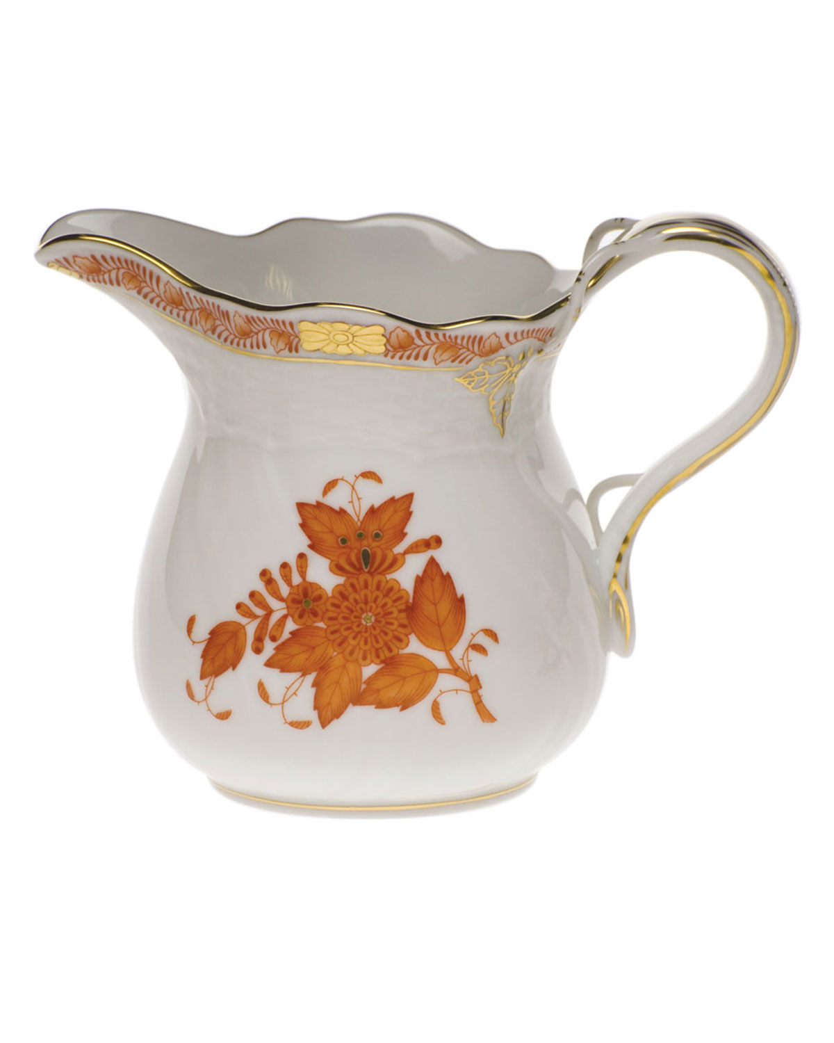 Herend CHINESE BOUTIQUE RUST CREAMER
