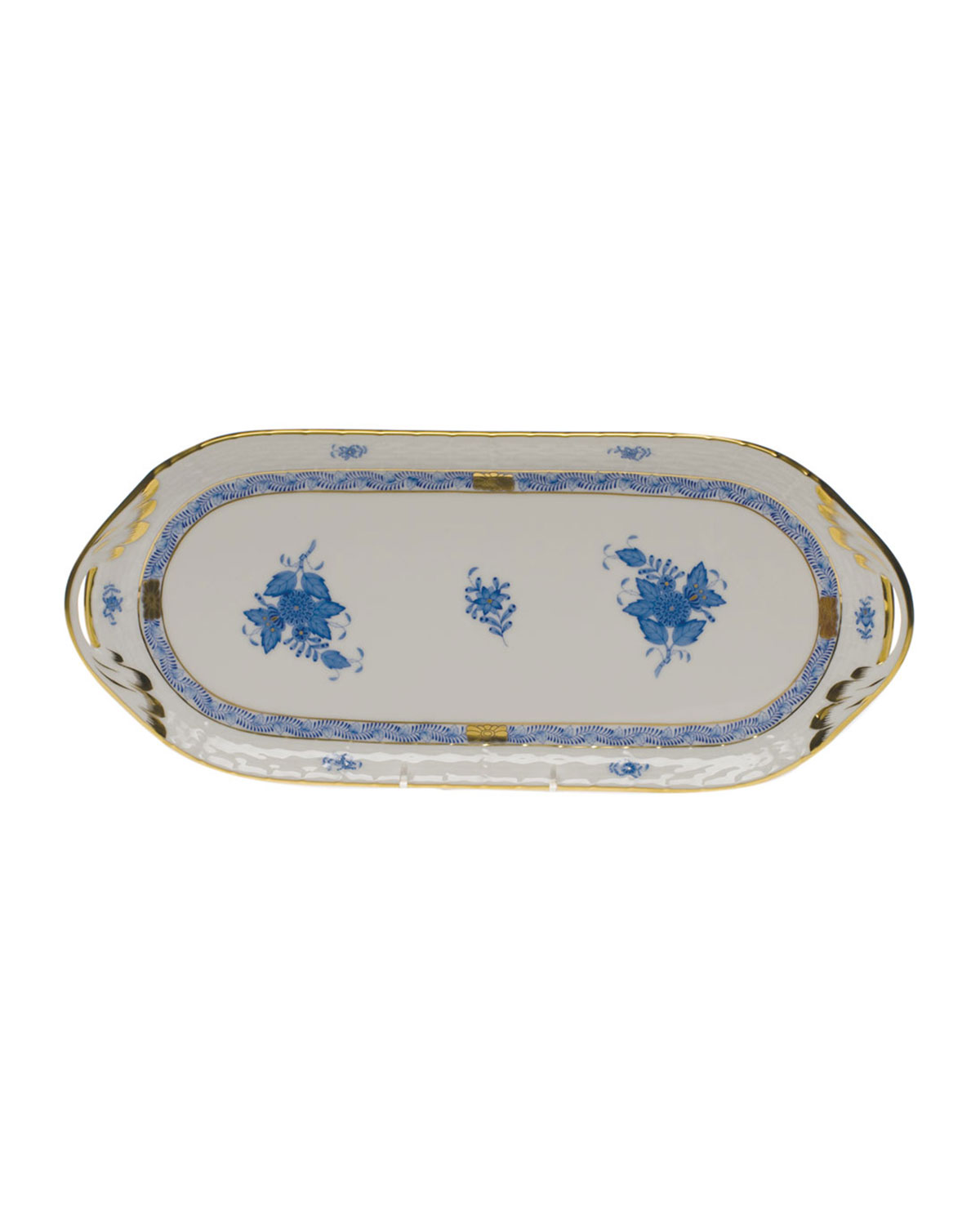 Herend CHINESE BOUQUET SANDWICH TRAY