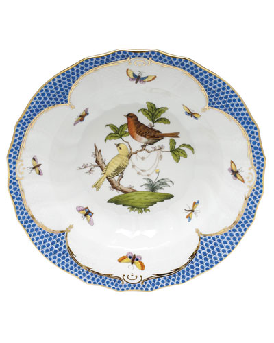 Rothschild Blue Motif 06 Rim Soup Bowl