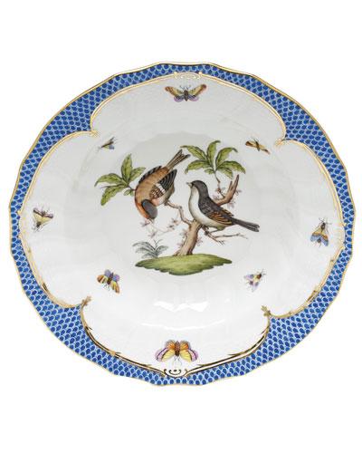 Rothschild Blue Motif 12 Rim Soup Bowl
