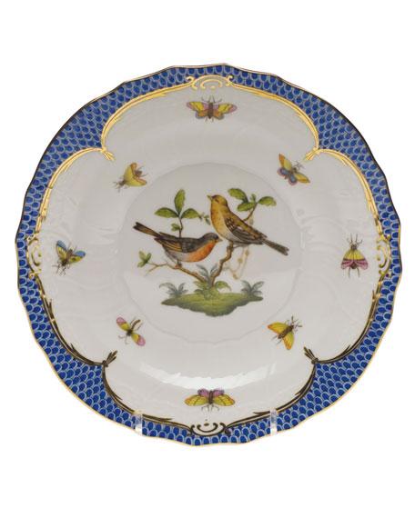 Herend Rothschild Blue Motif 09 Salad Plate
