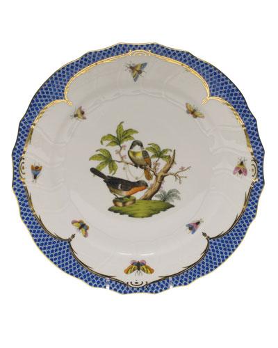 Rothschild Blue Motif 02 Dinner Plate