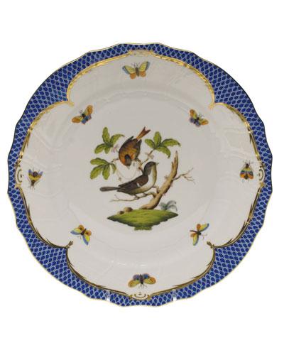 Rothschild Blue Motif 04 Dinner Plate