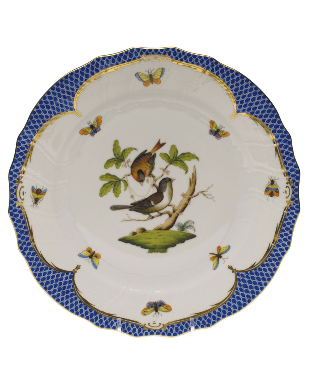 Herend ROTHSCHILD BLUE MOTIF 04 DINNER PLATE