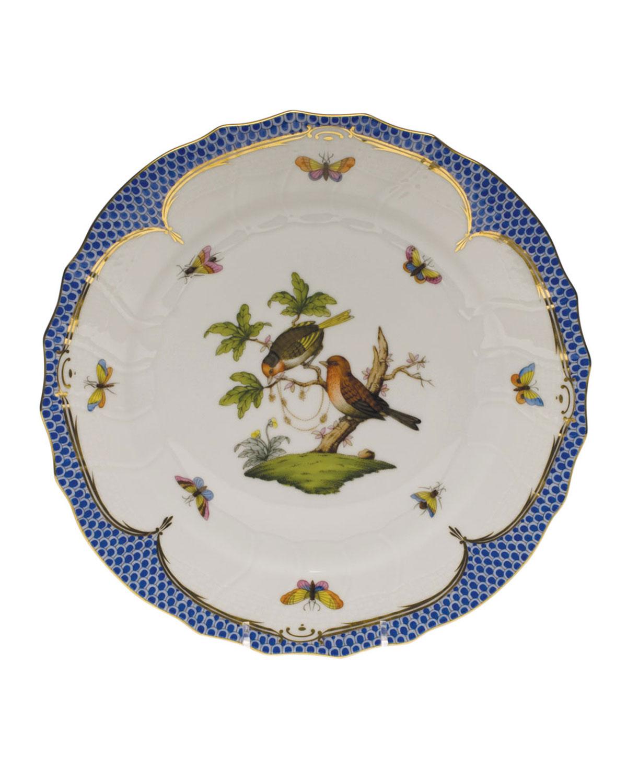 Herend ROTHSCHILD BLUE MOTIF 10 DINNER PLATE