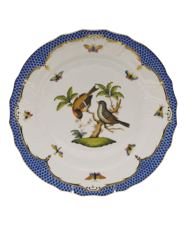 Herend ROTHSCHILD BLUE MOTIF 12 DINNER PLATE