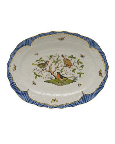 Rothschild Blue Platter