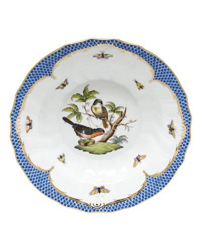 Rothschild Blue Motif 03 Rim Soup Bowl