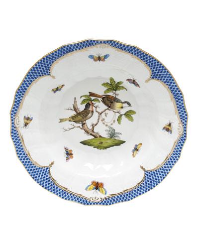 Rothschild Blue Motif 11 Rim Soup Bowl