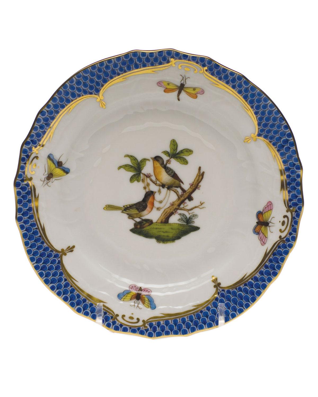 Herend ROTHSCHILD BLUE MOTIF 08 BREAD & BUTTER PLATE