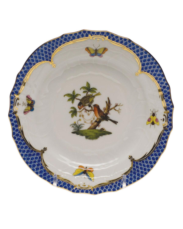 Herend ROTHSCHILD BLUE MOTIF 10 BREAD & BUTTER PLATE