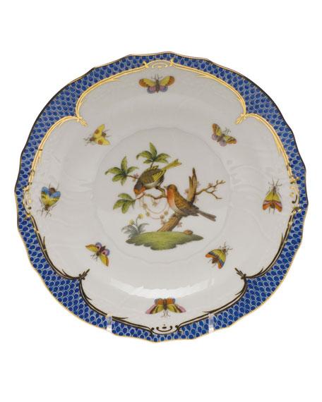 Herend Rothschild Blue Motif 10 Salad Plate