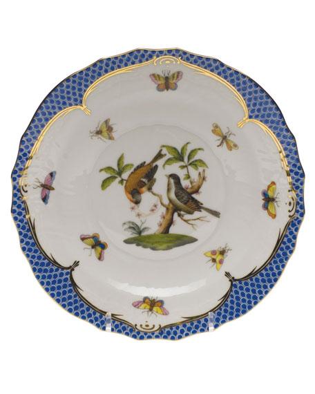 Herend Rothschild Blue Motif 12 Salad Plate