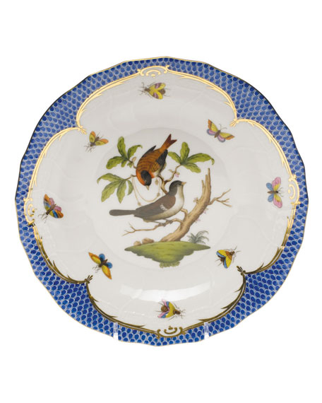 Herend Rothschild Blue Motif 04 Dessert Plate