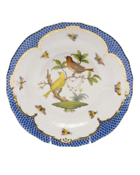 Herend Rothschild Blue Motif 06 Dessert Plate