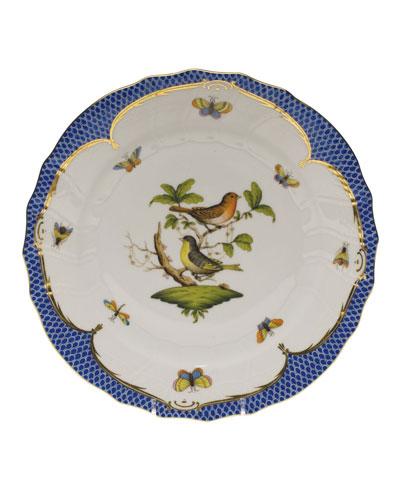 Rothschild Blue Motif 03 Dinner Plate