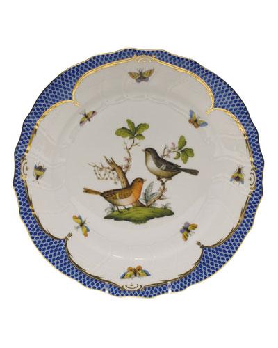 Rothschild Blue Motif 05 Dinner Plate