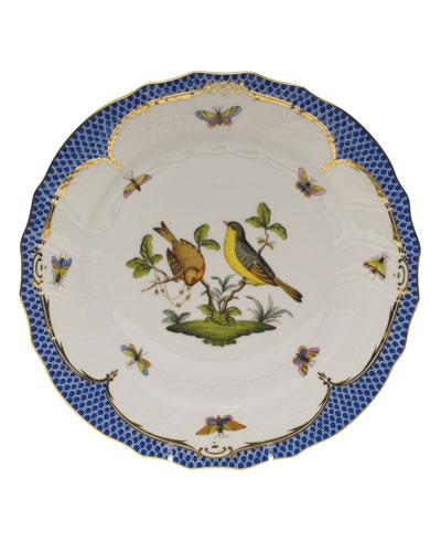 Rothschild Blue Motif 07 Dinner Plate