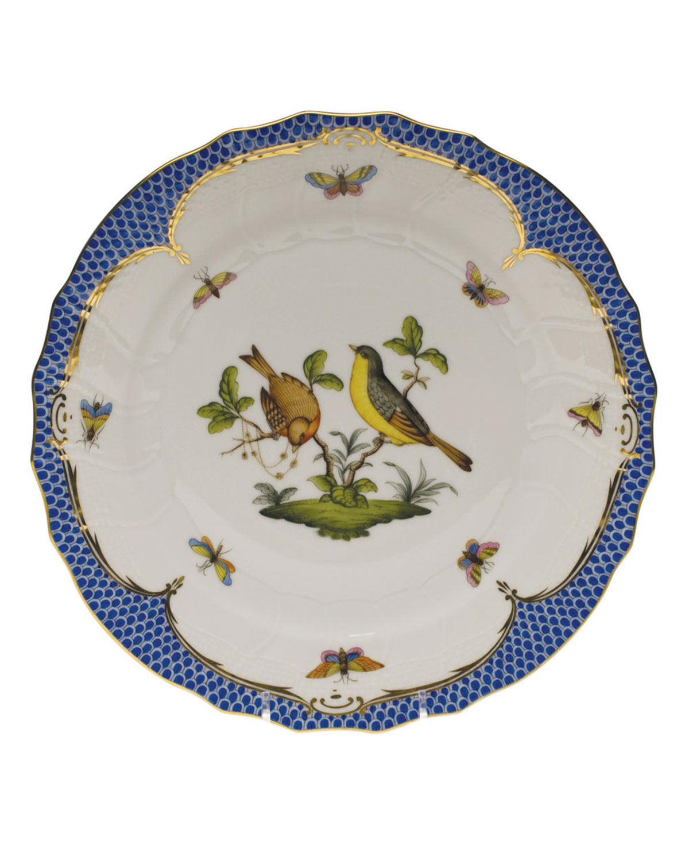 Herend ROTHSCHILD BLUE MOTIF 07 DINNER PLATE
