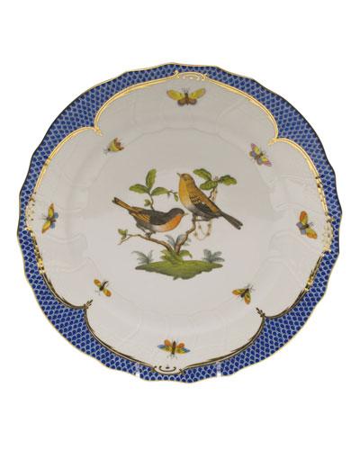 Rothschild Blue Motif 09 Dinner Plate