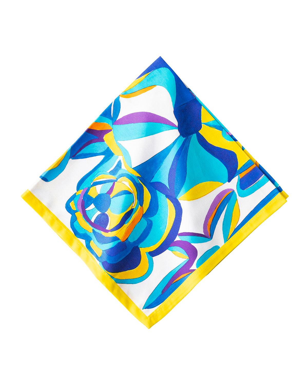 Blue Rose Napkin