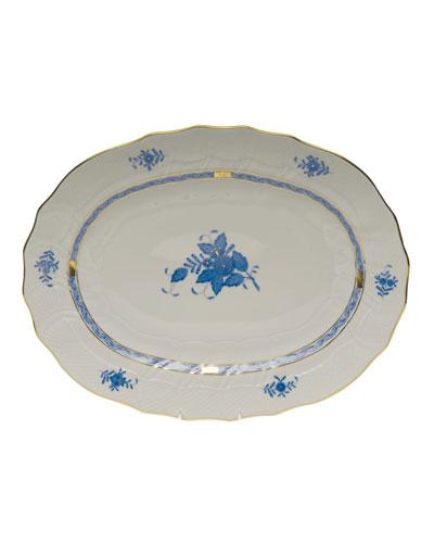 Chinese Bouquet Blue Platter