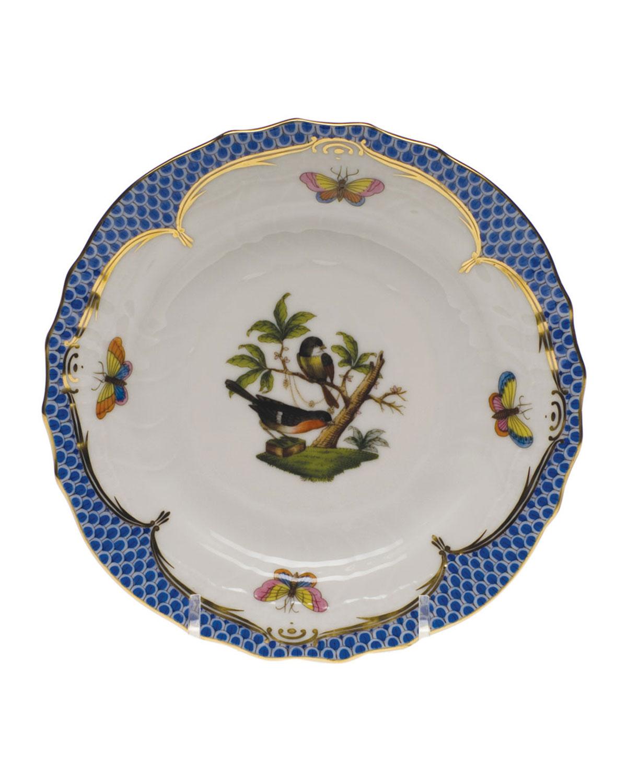 Rothschild Bird Blue Motif 2 Bread & Butter Plate