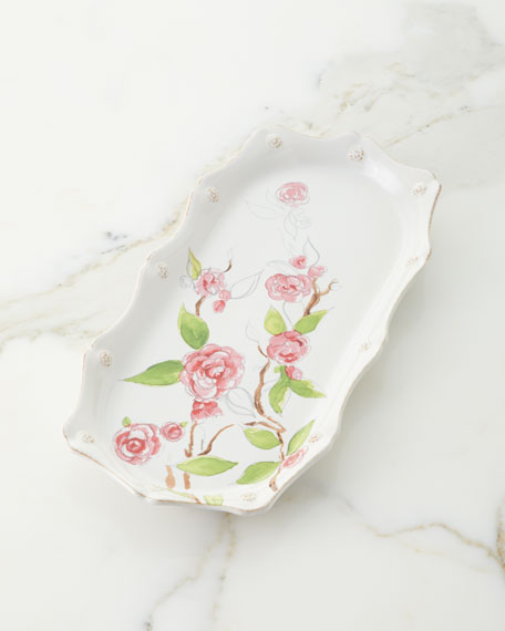 Juliska Berry & Thread Floral Sketch Hostess Tray