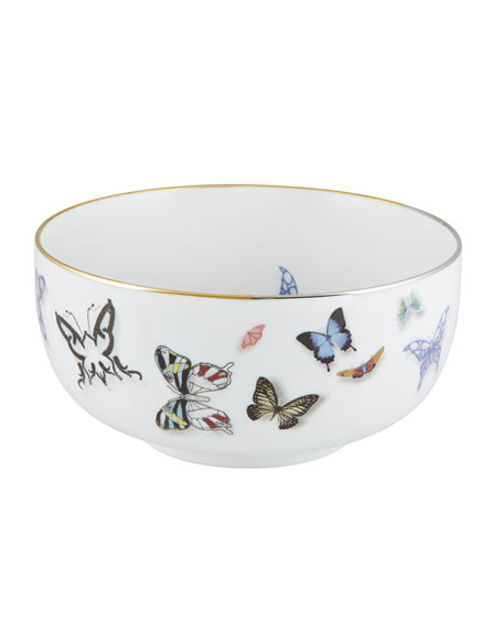 "Christian Lacroix Butterfly Parade 6"" Bowl"