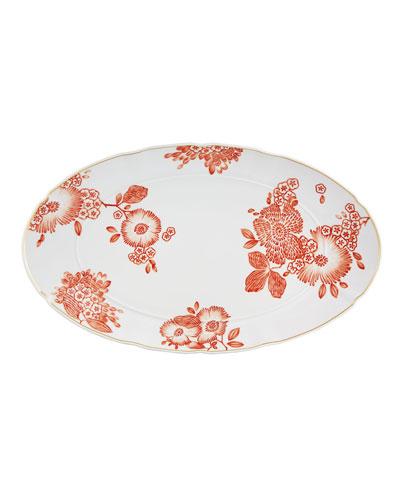 Coralina Oval Platter XL