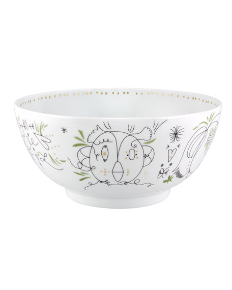 Vista Alegre Folkifunki Large Salad Bowl