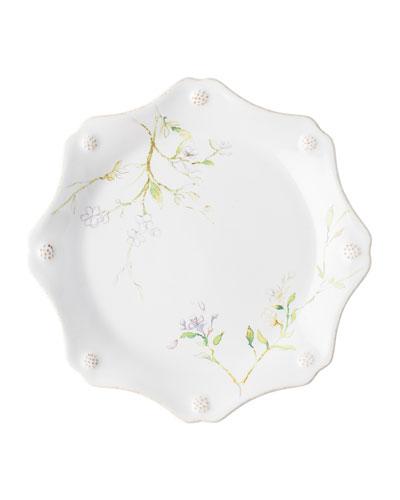 Berry Thread Floral Sketch Jasmine Dessert/Salad Plate