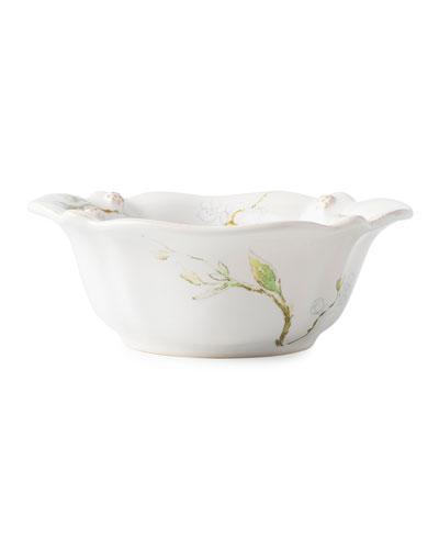 Berry Thread Floral Sketch Jasmine Cereal/Ice Cream Bowl
