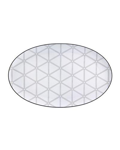 Orquestra Large Oval Platter