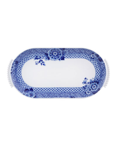 Blue Ming Small Oval Platter