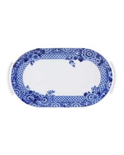 Blue Ming Large Oval Platter