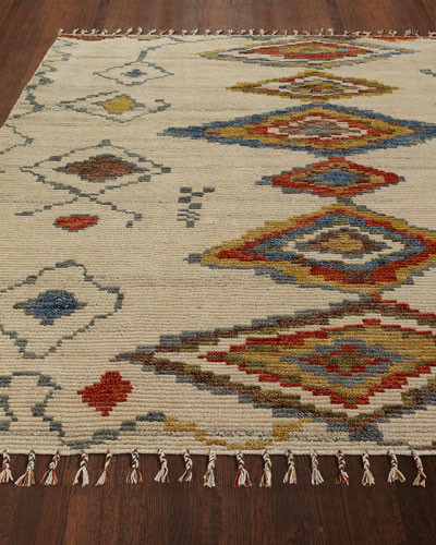 Nahala Hand-Knotted Runner, 2' x 8'