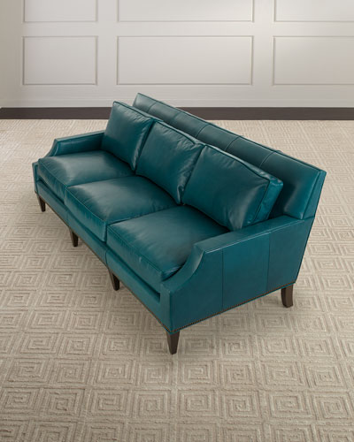 Hummingbird Leather Sofa 85