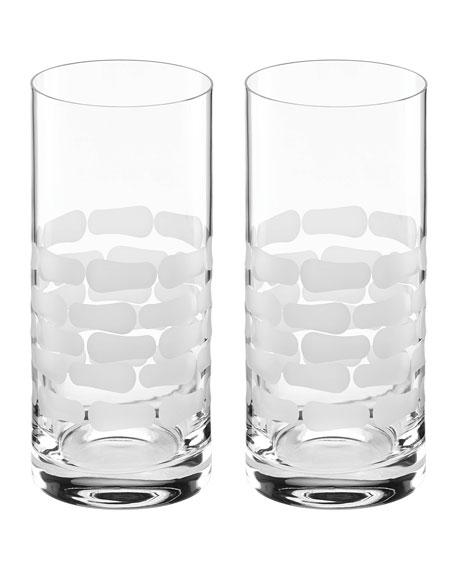 Michael Wainwright Truro Highball Glasses, Set of 2