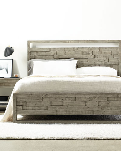 Shaw Panel Bed - California King