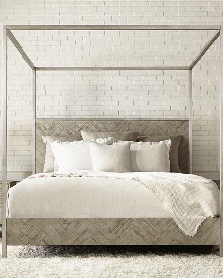 Bernhardt Milo Canopy Bed - Queen