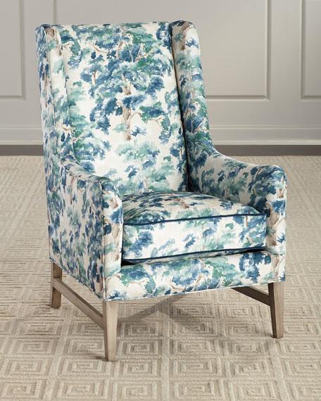Massoud Larchmont Wing Chair